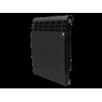 Радиатор биметаллический  (1 секц.) 500 BiLiner New черный Royal Thermo